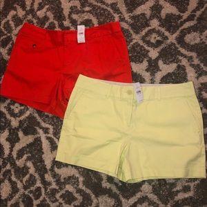 2 Pair of NWT LOFT shorts